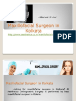 Maxillofacial Surgeon in Kolkata