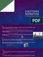 Cuestiones Normativas Determinantes Numerales Cardinales