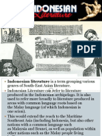 Indonesian Literature