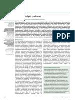 Ruiz-Iraztorza Et Al (2010) - Antiphospholipid Syndrome