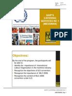 3 ILO Conventions and MLC 2006_handouts