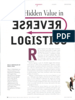 (2005) Mollenkopf & Closs - The Hidden Value in Reverse Logistics