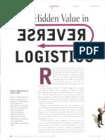(2005) Mollenkopf & Closs - The Hidden Value in Reverse Logistics
