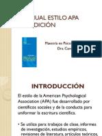 Ultima ed. estilo APA 6