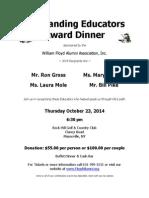 Outstanding Educators Award Dinner