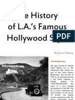 Hollywood Sign History.pps