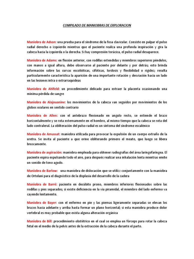 COMPILADO DE MANIOBRAS DE EXPLORACION.docx