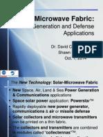 Solar MicroWv Fabric
