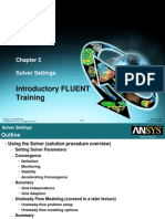 Fluent12 Lecture05 Solver Settings