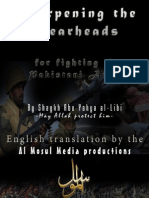 Sharpening the Spear - English Translation
