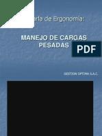 CHARLA DE MANEJO DE CARGAS PESADAS.ppt