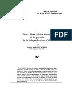 Ideas Francesas en la Independencia de Chile - Cristián Gazmuri 2.pdf