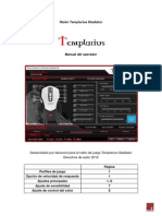 Manual de instrucciones Ratón Templarius Gladiator en español