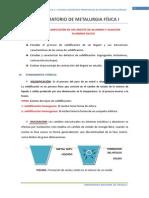 2º LABORATORIO (2012) SOLIDIFICACIÓN DE UN LINGOTE DE ALUMINIO Y ALEACION ALUMINIO-SILICIO.docx