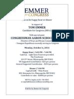 Emmer Invitation 6october2014 Schock-2-2