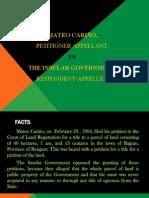 Mateo Cariño vs Insular Government