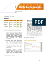 Daily Forex Insight 17122009
