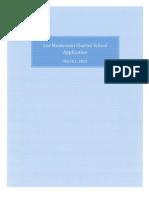 Lee Montessori PCS Application 312013