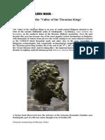 Seuthopolis and the 'Valley of the Thracian Kings' - Brendan Mac Gonagle