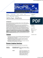 Call for Paper - SNaPP2014