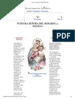 Novena a Nuestra Señora del Rosario.pdf