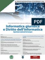 Informatica giuridica e Diritto dell'informatica Esperienze nazionali ed europee