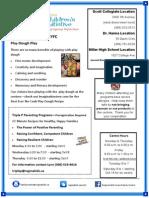 EYFC- Oct 2014 Newsletter Calendar 01