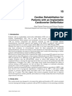 InTech-Cardiac Rehabilitation for Patients With an Implantable Cardioverter Defibrillator