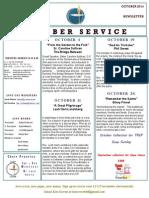 Luuf Newsletter Oct 2014