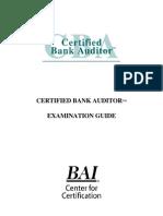 _bank Auditor ExamPrepGuide