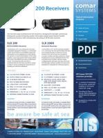 Comar SLR200 AIS Receivers datasheet