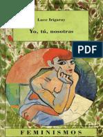 LUCE IRIGARAY Yo, tu, nosotras.pdf