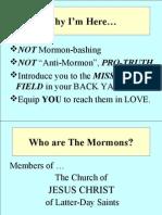 Mormonism - Week 1  Slides Handouts