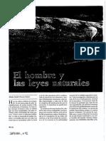 CARREL. Alexis - El hombre y las leyes naturales (Integral, 92).pdf
