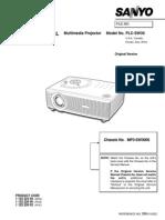 projector repair  guide PLCSW30