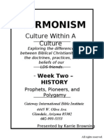 Mormonism - Week 2 Slides Handout
