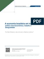 A economia brasileira em transição
