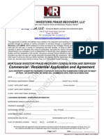 Mortgage Investors Fraud Recovery & Group Trust Contract