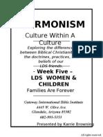 Mormonism - Week 5 Handouts