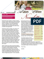 Provincial Autism Centre Newsletter - Fall 2009