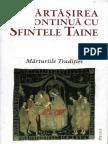 Impartasirea Continua Cu Sfintele Taine - Marturiile Traditiei (Fragment)