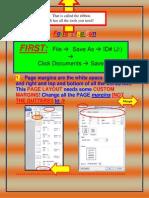 Word Formatting