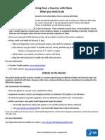CDC Ebola Fact Sheet