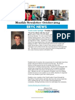 October News From Eagle River Youth Coalition