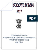 D1-030 MORTH. Road Accidents in India 2011, 2012