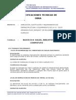 ESPECIF. téc BLOCK D2 AULAS, BIBLIOTECA SALA DE CÓMPUTUTO.doc