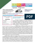 Bulletin septembre/octobre 2014