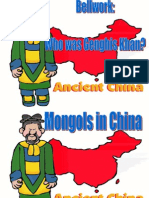 chapter 12 section 3   mongols in china