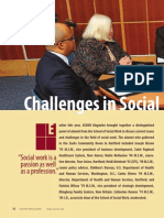 Challenges in Social Work