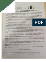 Declaración Institucional del Ayuntamiento de Genovés (Valencia) por la liberación de Mahadjouba Mohamed